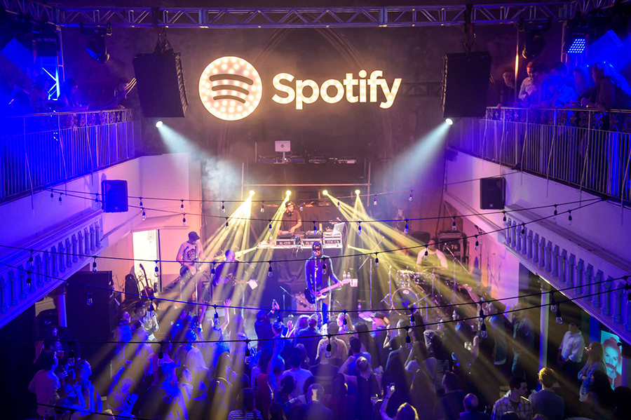 Spotify Playlist Party